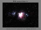 M 42 in Orione