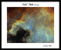 NCG 7000 Hubble Palette