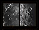 Dettagli della superficie lunare