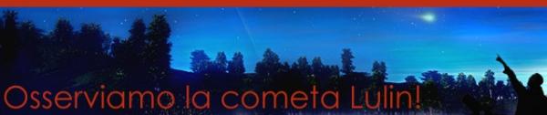 Osserviamo la cometa Lulin!