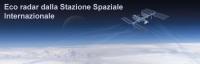 Eco radar dalla ISS